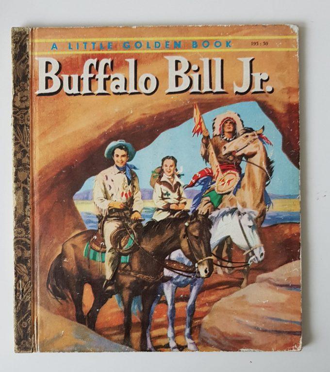Little Golden Books: Buffalo Bill Jr. 1