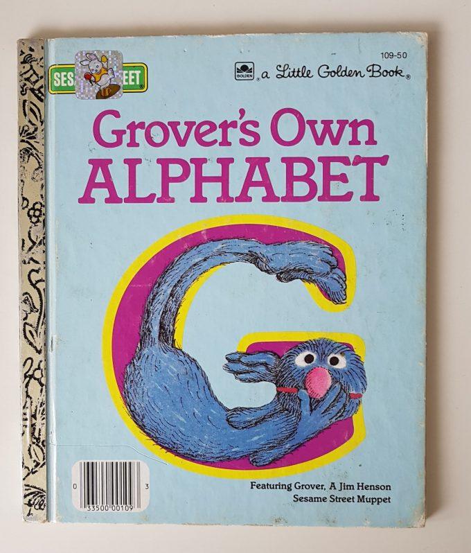 Little Golden Books: Grover's Own Alphabet 1