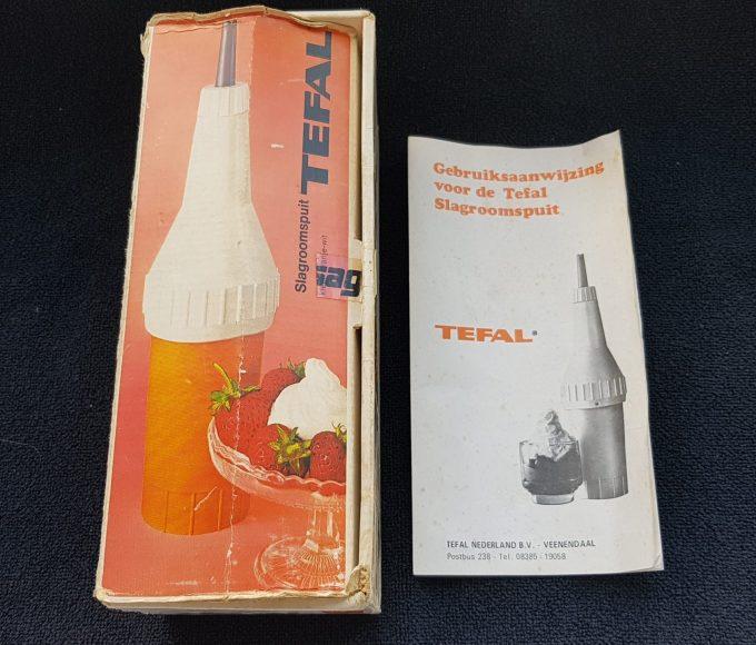 Tefal Slagroomspuit. Oranje wit. (werkt met patronen) 3