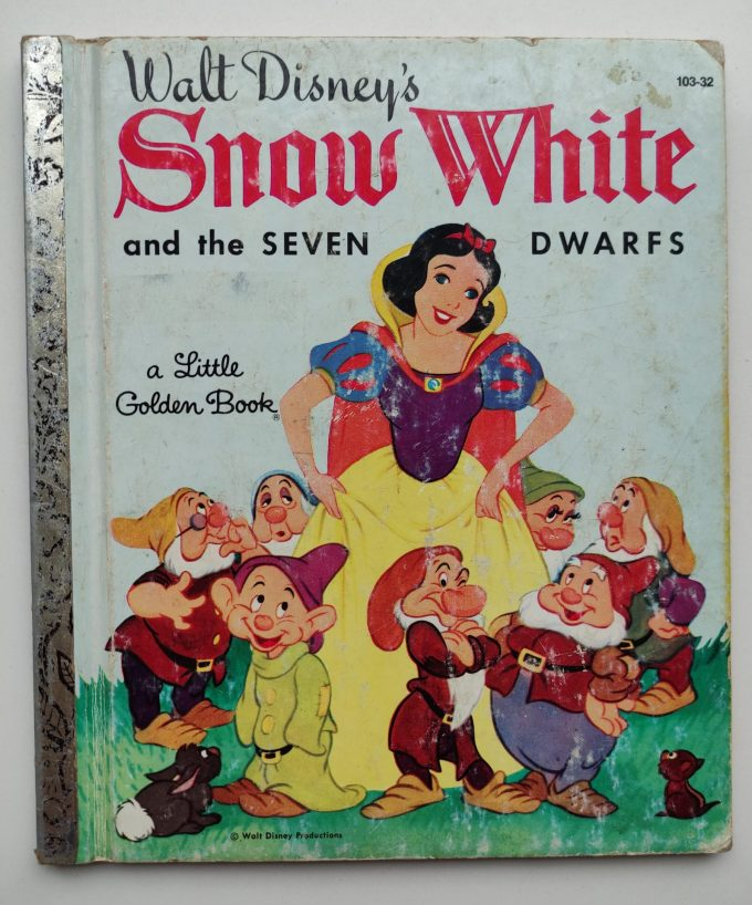Little Golden Books: Snow White and the Seven Dwarfs. 1
