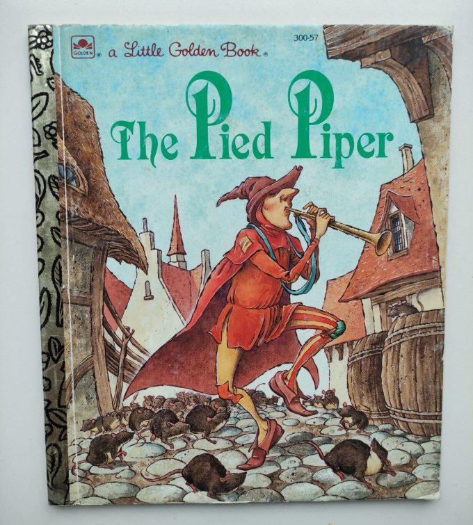 Little Golden Books: The Pied Piper. 1