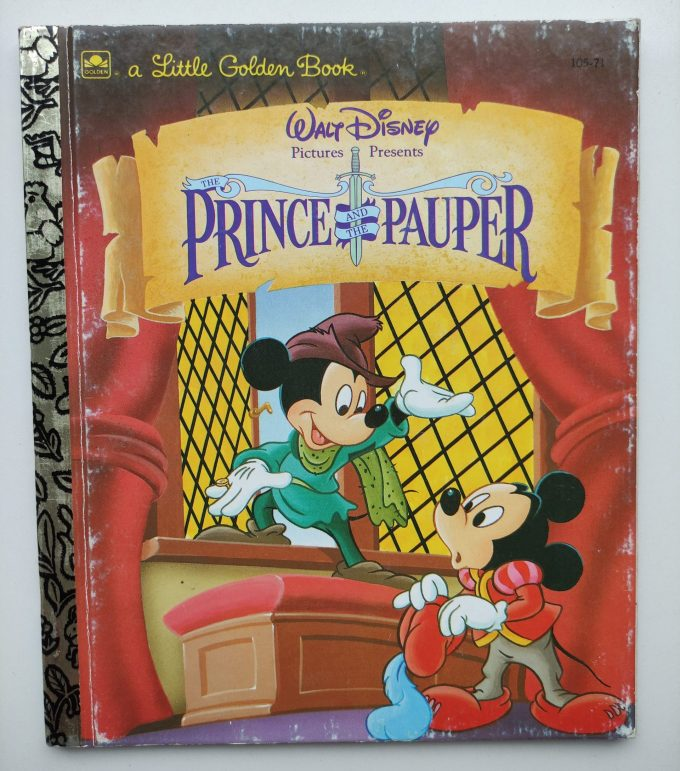 Little Golden Books: The Prince and The Pauper. 1