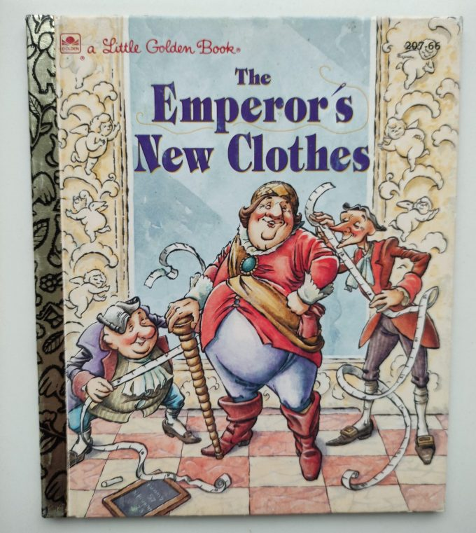 Little Golden Books: The Emperor's New Clothes. 1