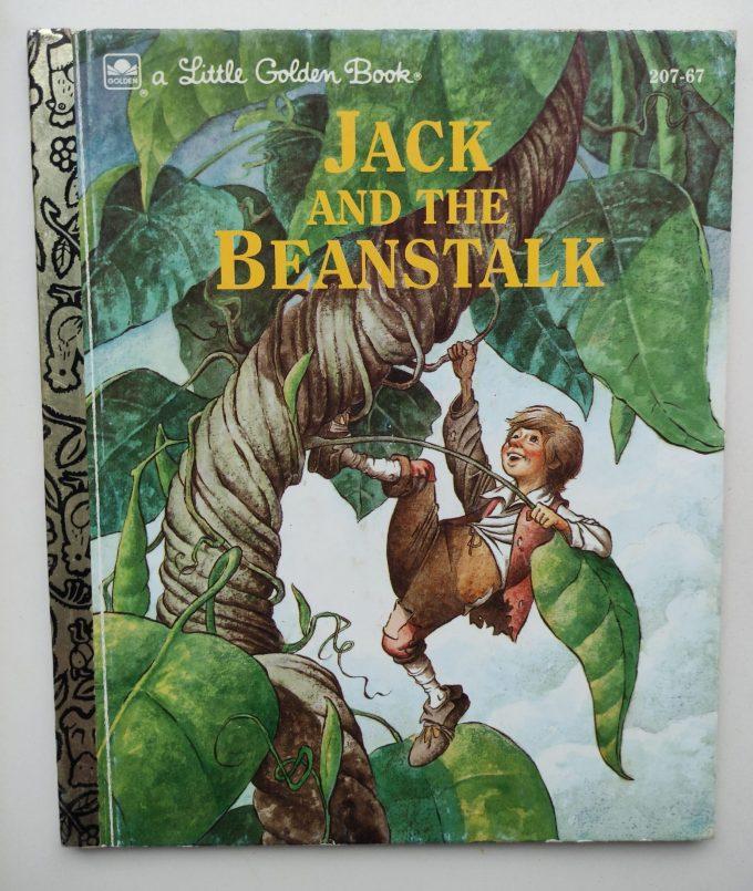 Little Golden Books: Jack and the Beanstalk. 1