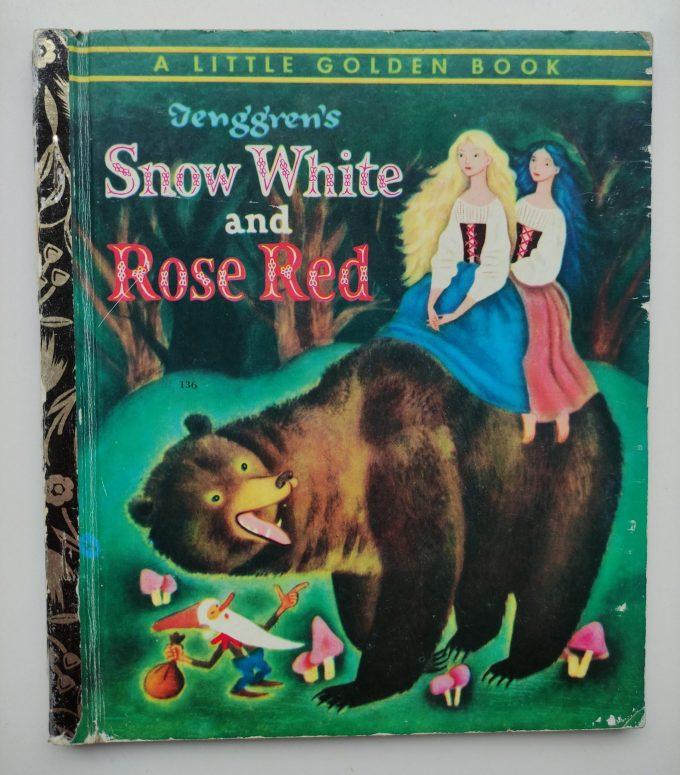Little Golden Books: Teng' G'ren's Snow White and Rose Red. 1