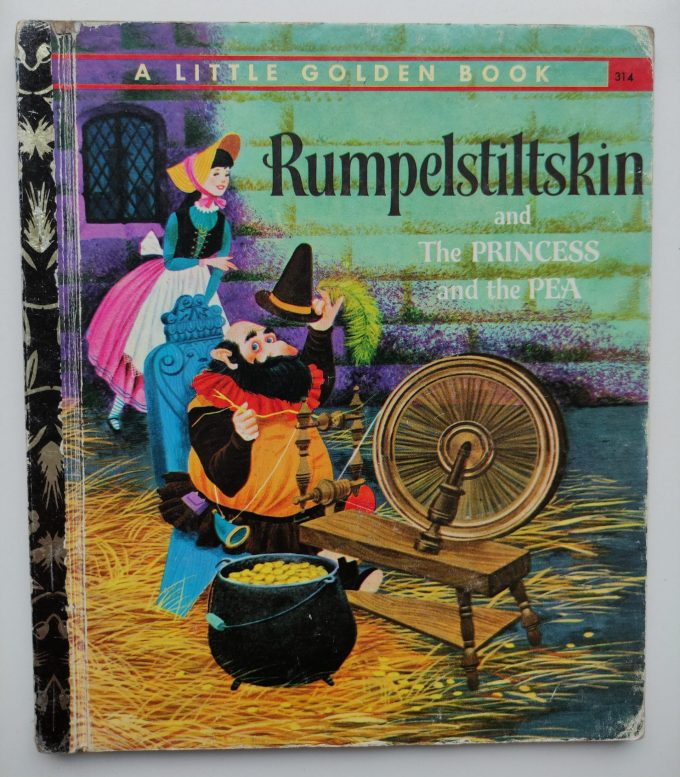 Little Golden Books: Rumpelstiltskin and The Princess and the Pea. 1