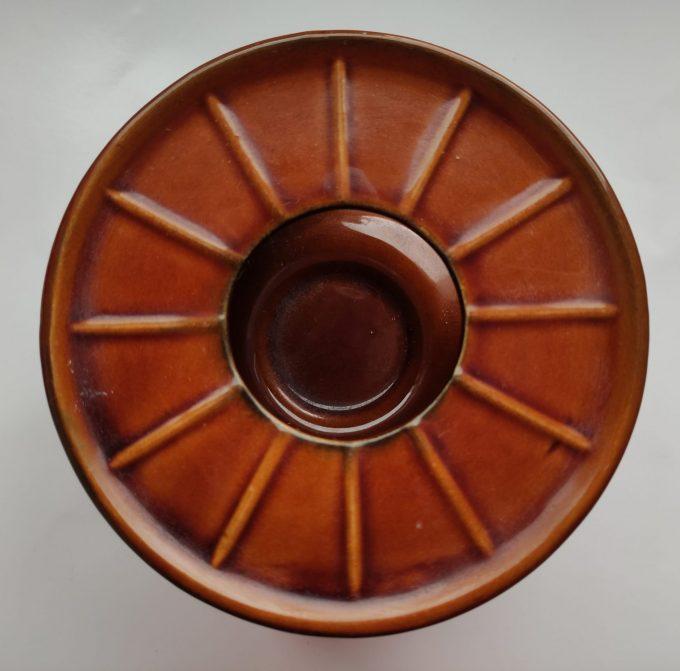 Van Nelle G 198 Theelichthouder bruin 2