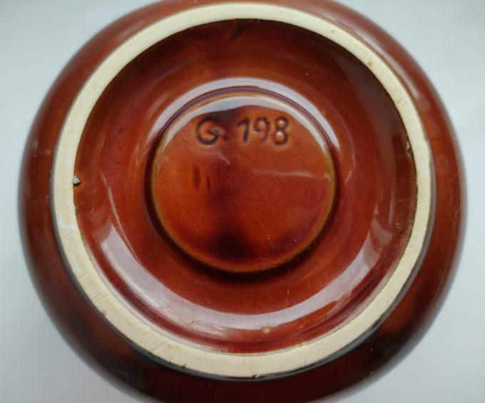 Van Nelle G 198 Theelichthouder bruin 3