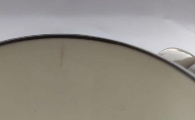 P (Pagnossin)? Made in Italy. Koffie kop en schotel. Creme wit. Per set van 2 4