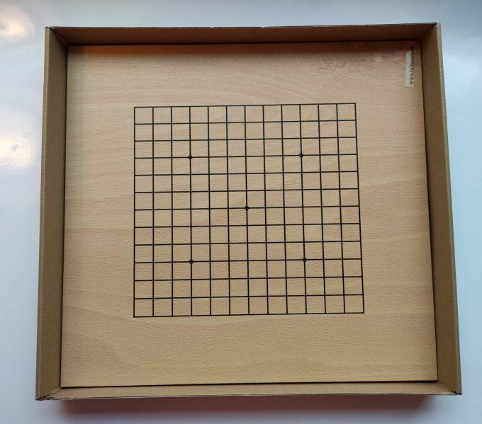 HOT Sports bordspel 728000. Original G0-Set klein. Dubbelzijdig bord beuken fineer. 5
