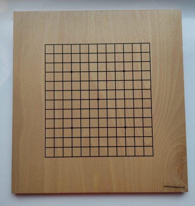 HOT Sports bordspel 728000. Original G0-Set klein. Dubbelzijdig bord beuken fineer. 3