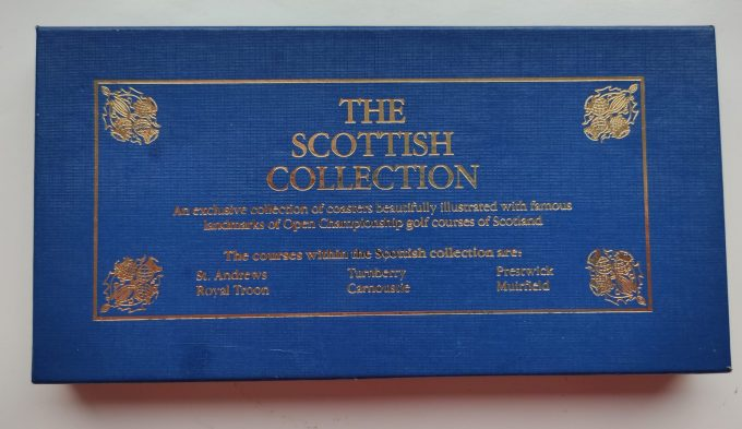 EGP Sports. The Scottish Collection. Coasters /onderzetters. Golf Courses of Scotland. 1