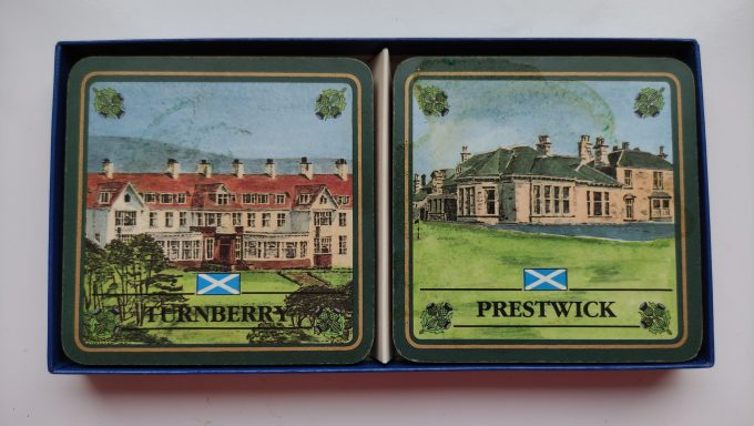 EGP Sports. The Scottish Collection. Coasters /onderzetters. Golf Courses of Scotland. 3