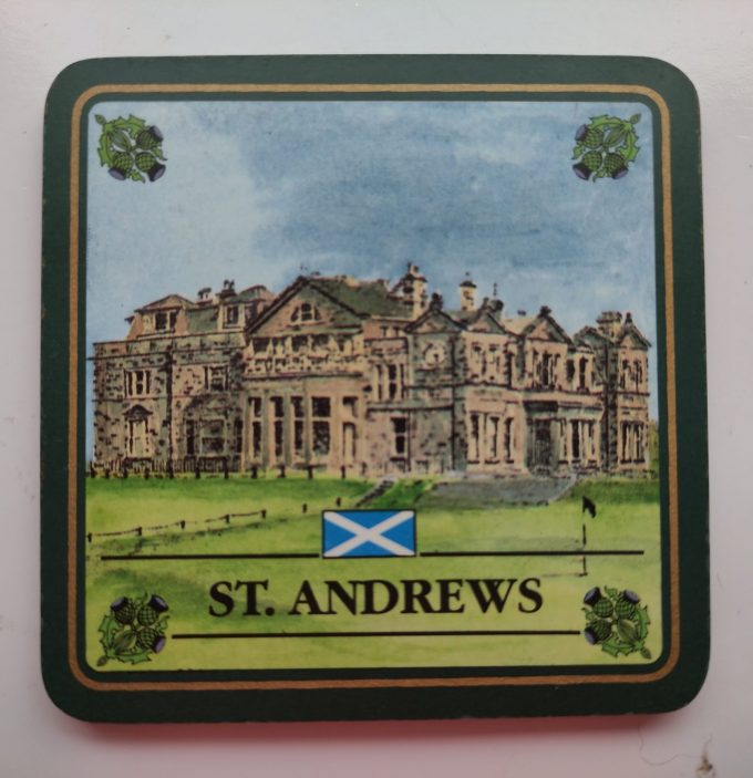EGP Sports. The Scottish Collection. Coasters /onderzetters. Golf Courses of Scotland. 4