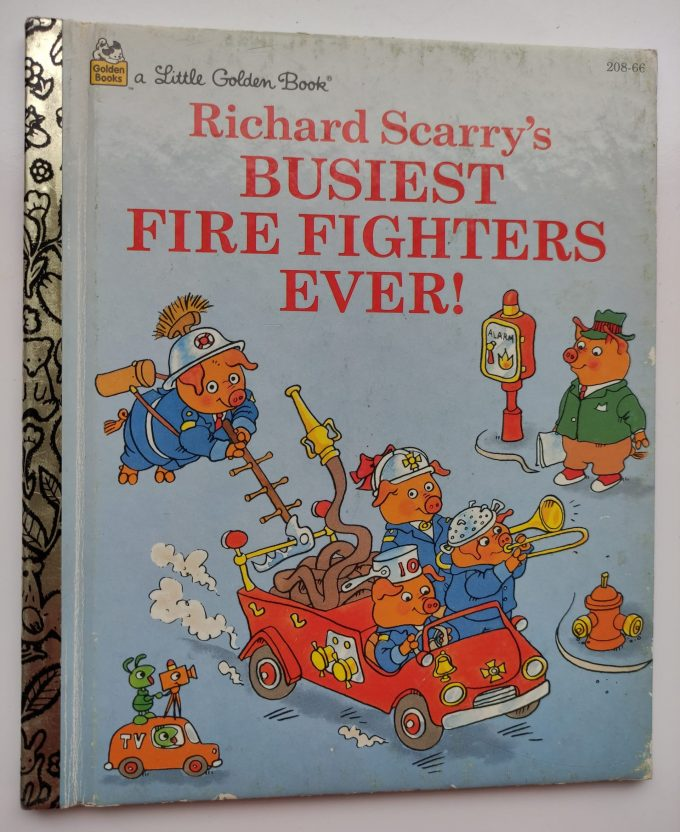 Little Golden Books: Richard Scarry's Busiest Fire Fighters Ever! 1