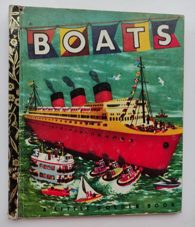 Little Golden Books: Boats. 1
