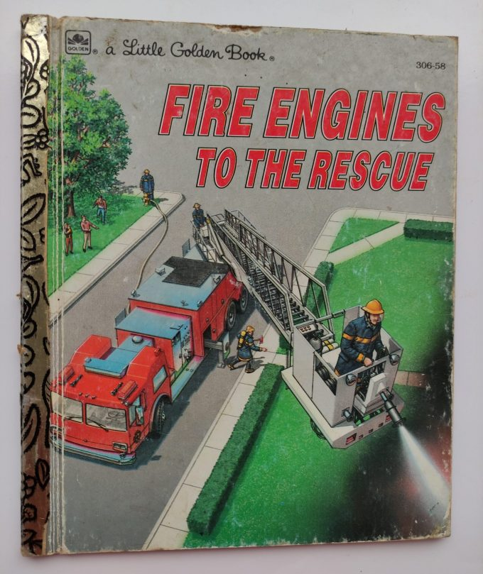 Little Golden Books: Fire Engines to the Rescue! 1