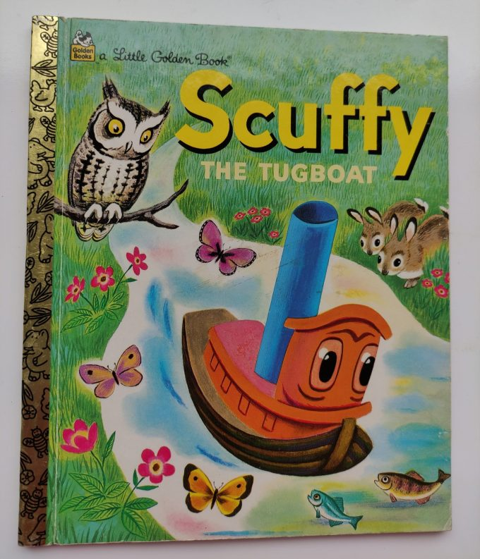 Little Golden Books: Scuffy, The Tugboat. 1