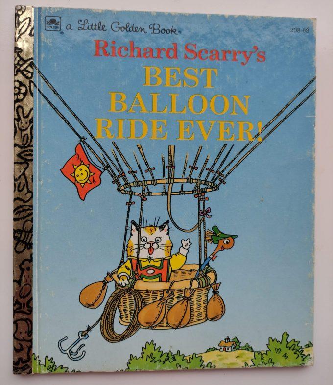 Little Golden Books: Richard Scarry. Best Balloon Ride Ever! 1
