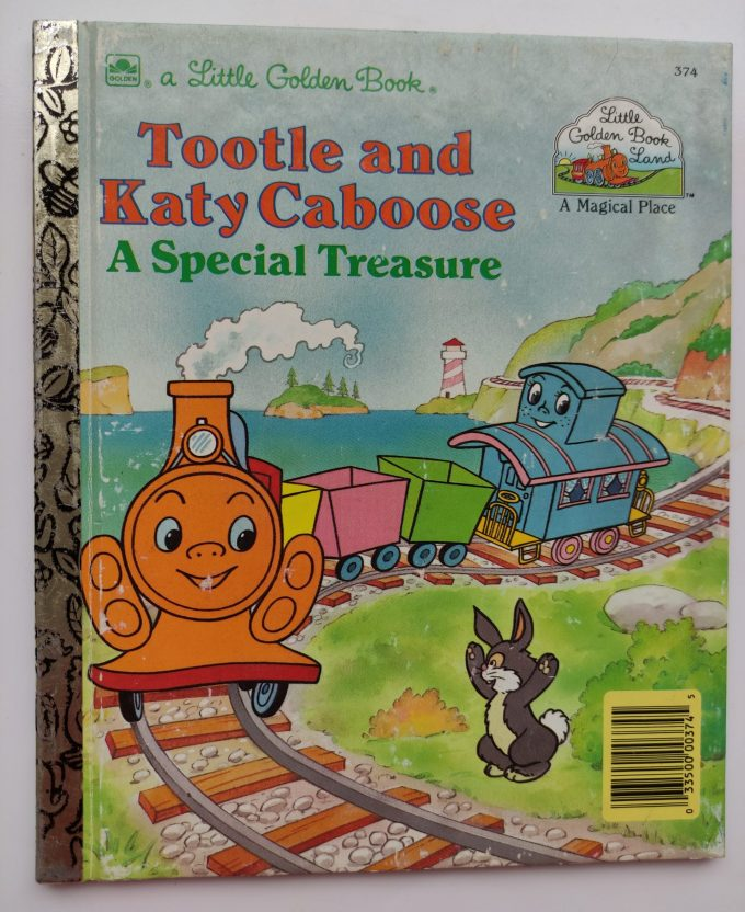Little Golden Books: Tootle and Katy Caboose. A Special Treasure. 1