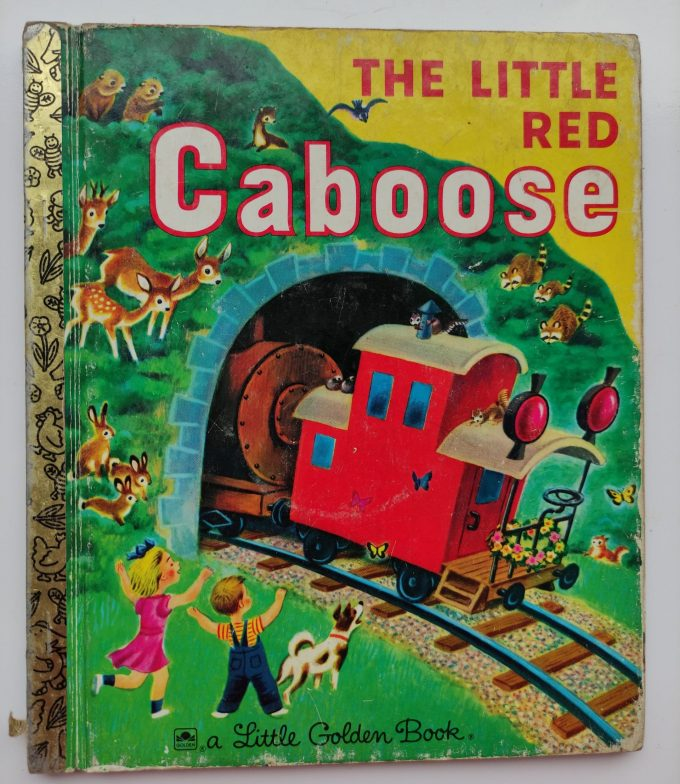 Little Golden Books: The Little Red Caboose. 1