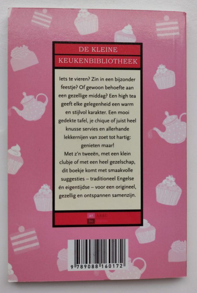 Machteld Smid. High Tea. (De kleine Keukenbibliotheek). (Boek) 2