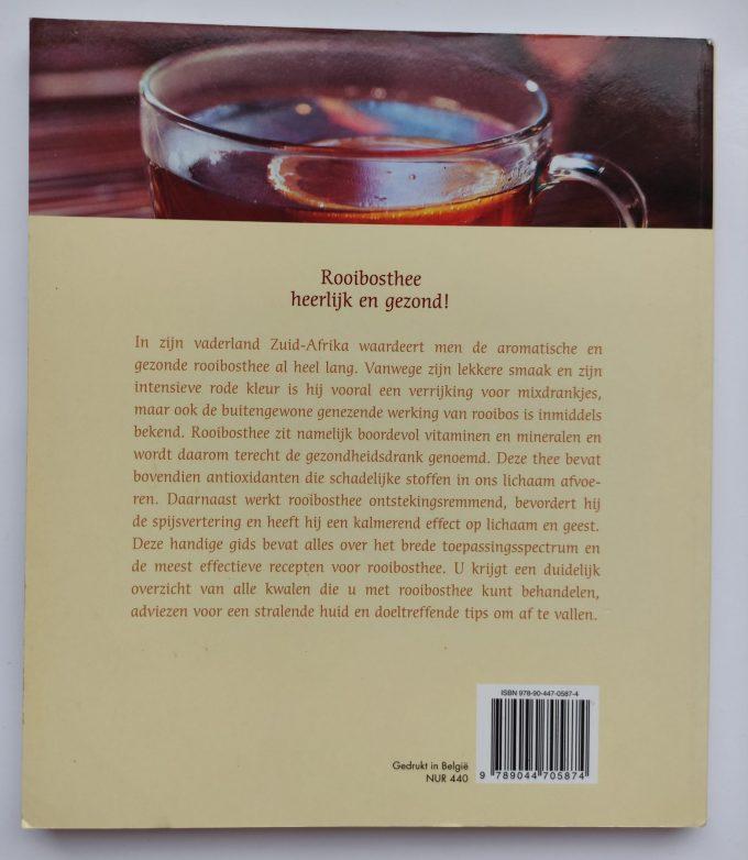Jörg Zittlau. Rooibosthee de gezondheidsdrank (De heilzame werking, Lekkere recepten, Tips voor een mooi figuur). (Boek) 2
