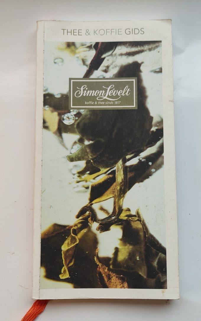 Simon Lévelt. Thee & Koffie gids. (Boek) 1