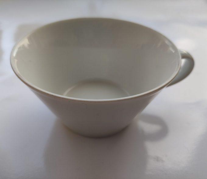 Arzberg. Tric Sieger Design. Café au lait / of soepkom. Wit 1