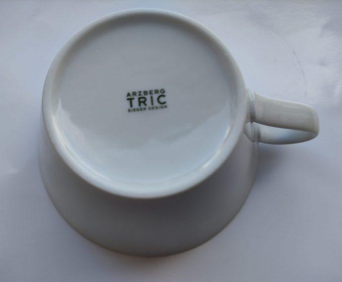 Arzberg. Tric Sieger Design. Café au lait / of soepkom. Wit 2