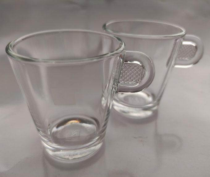 Nespresso. Design ADN. Ristretto glas. Per set van 2. 1